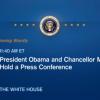 Пресс-конференция Обамы и Меркель (Онлайн-трансляция)