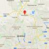 Под Донецком большой пожар, слышны взрывы (ВИДЕО)