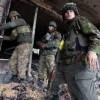 Ночью боевики снова атаковали украинских военных в Широкино