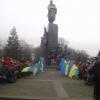 Харьков на коленях попрощался с погибшим в ходе теракта 15-летним школьником