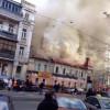 Погорельцы дома в центре Киева подозревают, что пожар произошел не случайно