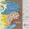 Ситуация в зоне АТО на 25 марта (КАРТА)