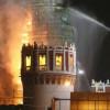 В центре Москвы горел Новодевичий монастырь