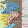 Ситуация в зоне АТО на 30 апреля (КАРТА)