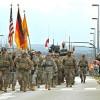 Американские военные завершили марш по странам НАТО