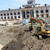 Улицу времен Киевской Руси, найденную в центре Киева, засыпали землей (ФОТО+ВИДЕО)