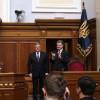 Коморовского в Раде встретили овациями: Польша подает руку Украине