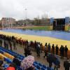 Жители Артемовска вышли на акцию «Артемовск — это Украина» (ФОТОФАКТ)