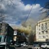 В Харькове пылает жилой дом (ФОТО+ВИДЕО)
