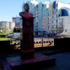 В Липецке установленный недавно бюст Сталину облили краской