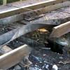 На Луганщине диверсанты подорвали железную дорогу