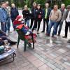 Под Радой устроили массовую голодовку (ФОТО)