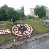 В центре Киева заработали обновленные цветочные часы (ФОТО)