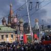 В Москве сильный пожар. Дым виден на Красной площади (ФОТО)