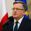 Коморовский признал поражение на выборах президента Польши