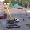 В Славянске демонтировали памятник Ленину