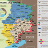 Ситуация в зоне АТО на 19 июня (КАРТА)