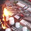 Версии пожара на нефтебазе под Васильковом