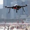 В Южной Корее за безопасностью на пляже следят дроны
