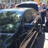 В Чернигове в заблокированной людьми Корбана машине нашли деньги и патроны