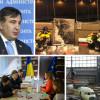Порошенко в Брюсселе и Саакашвили против таможенников