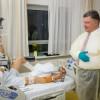 Порошенко проведал в госпитале Берлина раненых украинских воинов