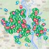 В Киеве появилась карта ремонтов в реальном времени