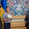 Порошенко предоставил украинское гражданство Марии Гайдар и российскому журналисту Федорину