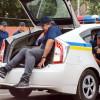 Саакашвили в багажнике. В Одессе патрульные провели показательную тренировку