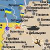 Боевики устроили украинским военным провокацию у Лозового (КАРТА АТО)