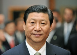 Chinesischer Vize-Staatspräsident Xi Jinping in Dresden