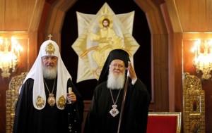 Фото: risu.org.ua Патриархи Кирилл и Варфоломей